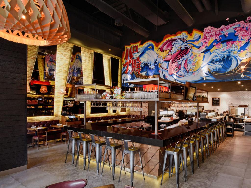 Pubbelly Sushi Miami Projekt Innenansicht