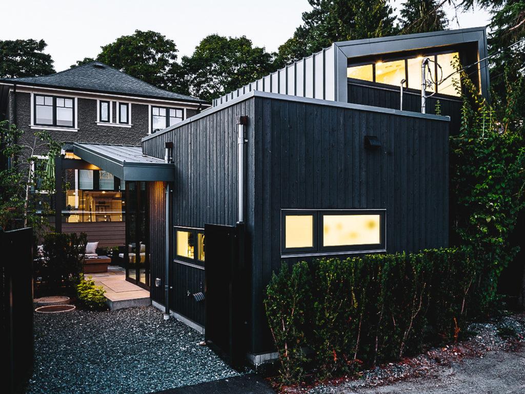 Laneway House Referenzprojekt