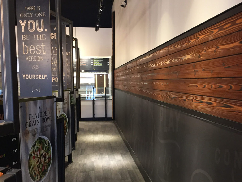Core Life Eatery restaurant Referenzprojekt